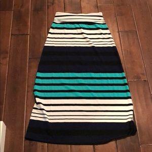 Mission Striped Skirt